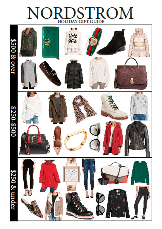 936470f44c5 Fashion Gift Guide  Nordstrom - Beauty News NYC - The First Online ...