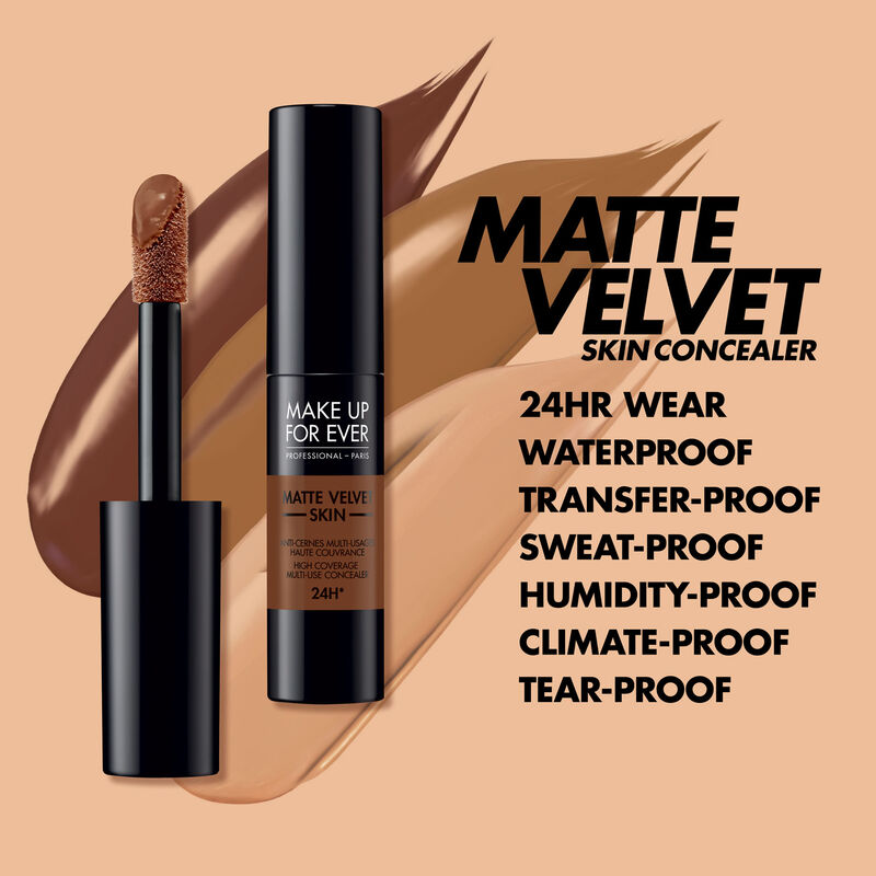 Makeup Forever's Matte Velvet Skin High Coverage Multi-Use Concealer