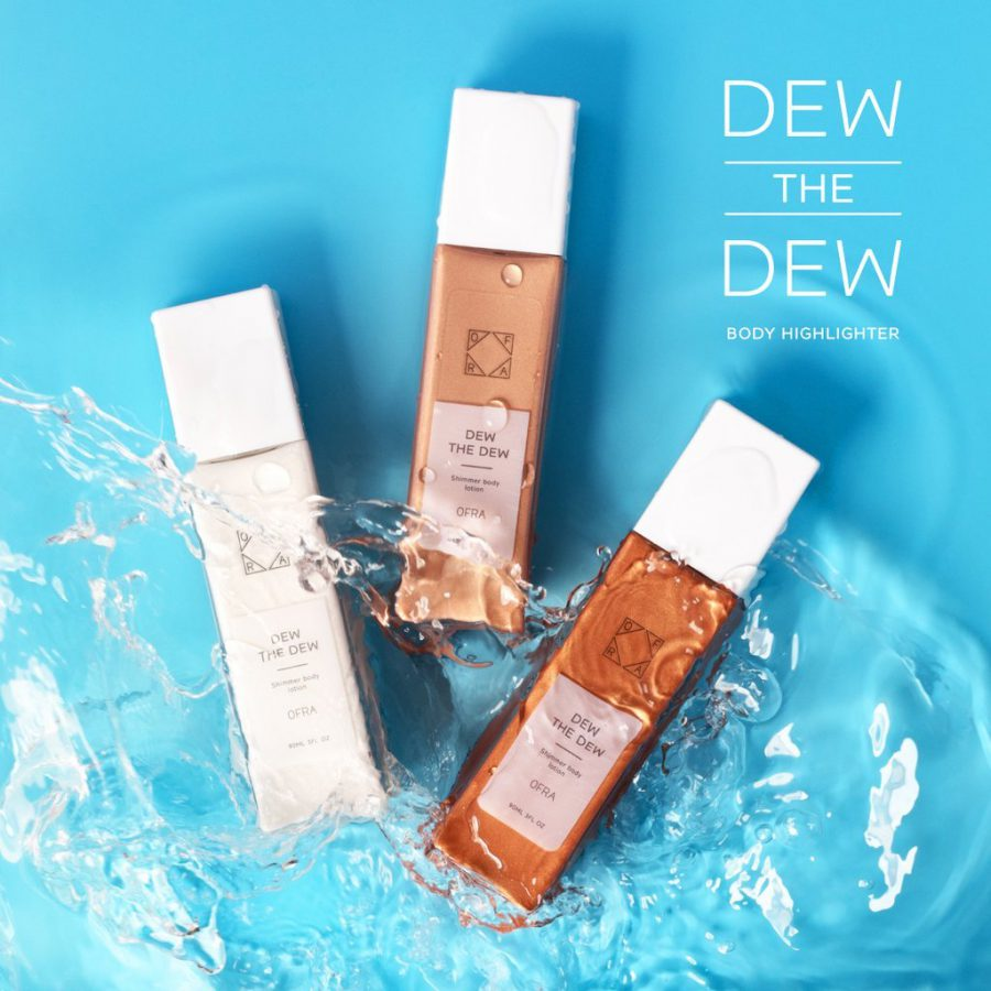 ofra dew the dew body highlighter