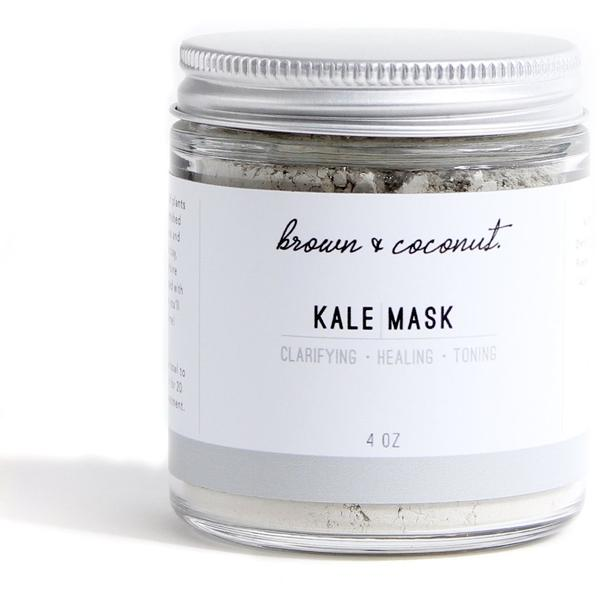 Brown & Coconut Healing Kale Mask