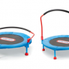 Wee Ones Bouncing Off the Walls? Here's a (Safe) Mini-Trampoline