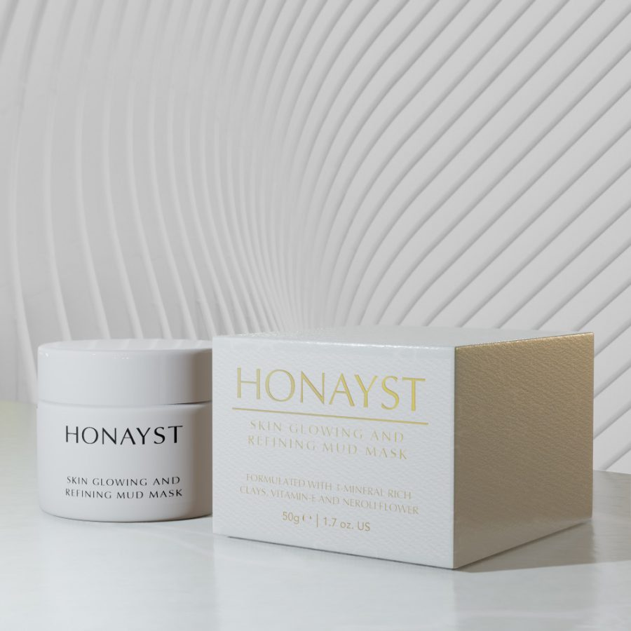 Honayst Skin Glowing and Refining Mud Mask